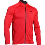Under Armour Men's Tech Track Jacket - Red
