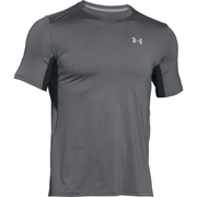 Under Armour Men's CoolSwitch Run Short Sleeve T-Shirt - Grey
