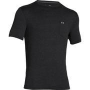 Under Armour Men's Tri-Blend Pocket T-Shirt - Black