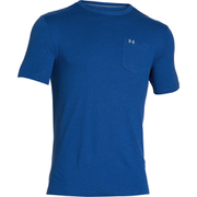 Under Armour Men's Tri-Blend Pocket T-Shirt - Blue