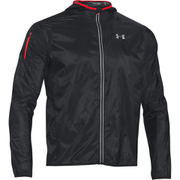 Under Armour Men's ColdGear Infrared Unstoppable Run Shell Jacket - Black
