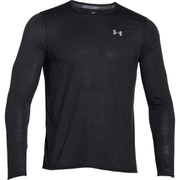 Under Armour Men's Streaker Long Sleeve T-Shirt - Black