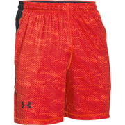 Under Armour Men's Raid International Shorts - Red/Black