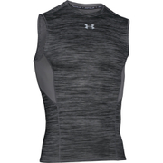 Under Armour Men's HeatGear CoolSwitch Compression Tank Top - Black/Grey
