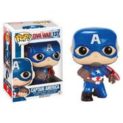 Captain America Civil War Action Pose Cap Pop! Vinyl Figure