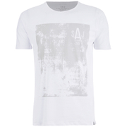 Smith & Jones Men's Diazoma Print T-Shirt - White