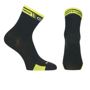 Northwave Logo High Socks - Black/Yellow Fluo