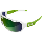 POC DO Blade Raceday Sunglasses - Hydrogen White/Cannon Green