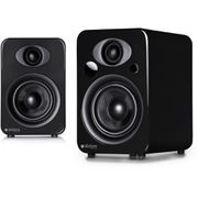 Steljes Audio NS3  Bluetooth Duo Speakers  - Gun Metal Grey