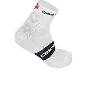 Castelli Free 6 Cycling Socks - White/Black