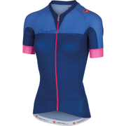 Castelli Women's Aero Race Short Sleeve Jersey - Dark Blue