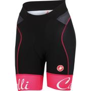 Castelli Women's Free Aero Shorts - Black/Pink