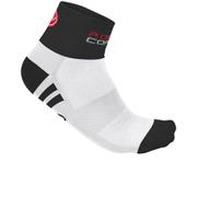 Castelli Women's Rosa Corsa Socks - White
