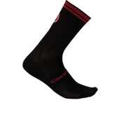 Castelli Free Kit 13 Socks - Black/Red