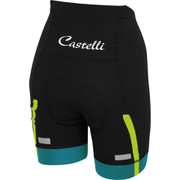 Castelli Women's Velocissima Shorts - Black/Blue