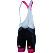 Castelli Free Aero Race Team Bib Shorts - Black/Red