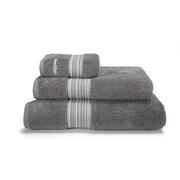 Calvin Klein Riviera Towel Range - Charcoal