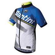 Santini Conan Children's Short Sleeve Jersey - Blue