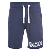 Franklin & Marshall Men's Fleece Sweat Shorts - Navy
