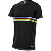 Santini UCI IRIDE T-Shirt - Black