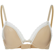 Calvin Klein Women's Signature Unlined Underwired Bra - Illusion/Ivory Lace