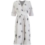 Great Plains Women's Skylark Loose Fit Dress - Grey