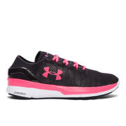 Under Armour Women's SpeedForm Turbulence Reflective Running Shoes - Black/Pink