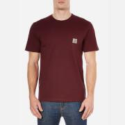 Carhartt Men's Short Sleeve Pocket T-Shirt - Chianti Heather