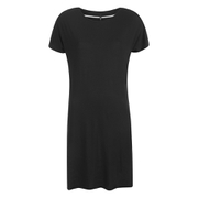 ONLY Women's Lidia Short Sleeve T-Shirt Dress - Black