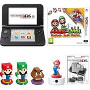 Nintendo 3DS XL Black + Mario & Luigi: Paper Jam Bros Pack