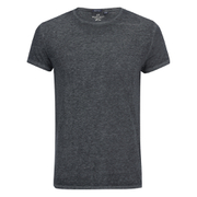 Brave Soul Men's Gonzalo Burnout T-Shirt - Black