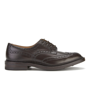 Tricker's Men's Bourton Leather Wingtip Brogues - Espresso