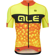 Alé PRR Bubbles Short Sleeve Jersey - Yellow/Orange