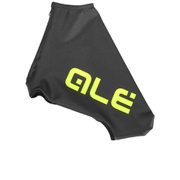 Alé Aerolight Lycra Shoe Covers - Black/Yellow