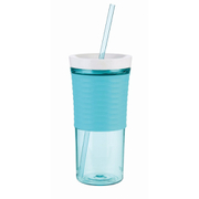 Contigo Shake & Go Tumbler with Straw (540ml) - Ocean