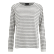 VILA Women's Keepa Long Sleeve Top - Light Grey Melange
