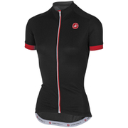 Castelli Women's Anima Short Sleeve Jersey - Black