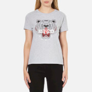 KENZO Women's Tiger T-Shirt - Light Grey