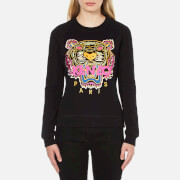 KENZO Women's Tiger Embroidered Sweatshirt - Black
