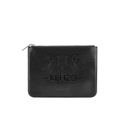KENZO Women's Icons A4 Clutch - Black