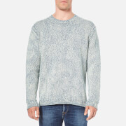 Polo Ralph Lauren Men's Crew Neck Knitted Jumper - Blue