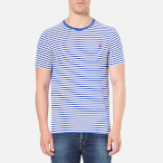 Polo Ralph Lauren Men's Crew Neck Stripe T-Shirt - Bright Royal