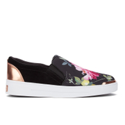 Ted Baker Women's Heem Floral Slip On Trainers - Citrus Bloom