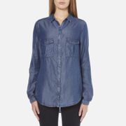 BOSS Orange Women's Emilitye Blouse - Dark Blue