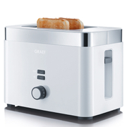 Graef TO61.UK 2 Slice Compact Toaster - White