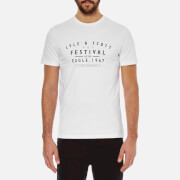 Lyle & Scott Vintage Men's Festival Graphic T-Shirt - White