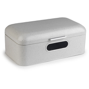 Salter Marble Collection White Window Bread Bin