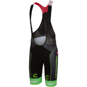 Castelli Cannondale Pro Cycling Team Free Aero Race Bib Shorts - Black