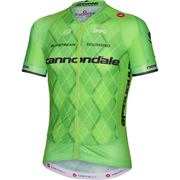 Castelli Cannondale Pro Cycling Team Aero Race 5.1 Short Sleeve Jersey - Green