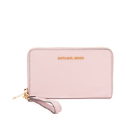 MICHAEL MICHAEL KORS Jet Set Travel Phone Purse - Pink
